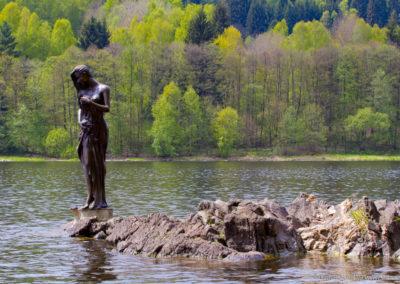 Vodní víla u Frymburku